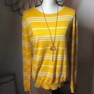 Banana Republic Striped light weight Sweater